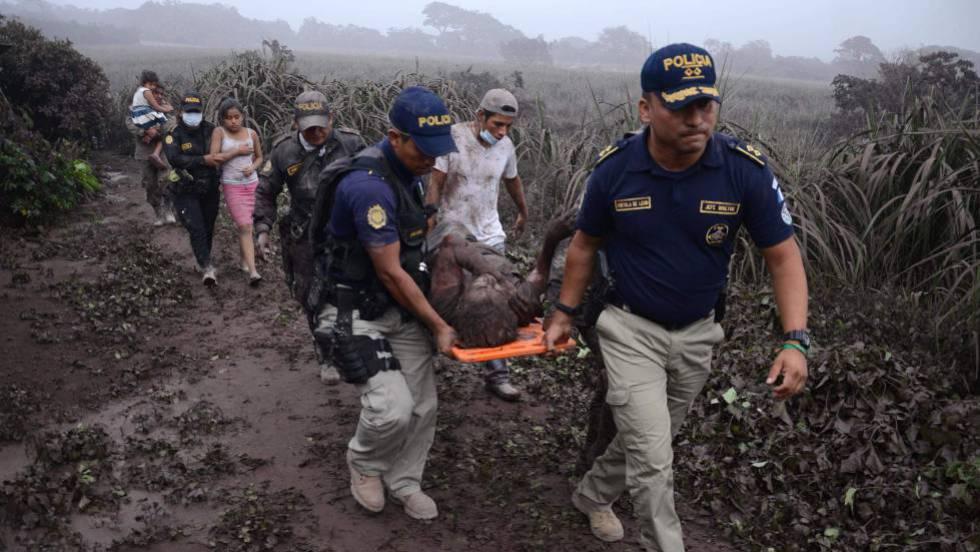 La violenta erupción de un volcán en Guatemala deja al menos 33 muertos