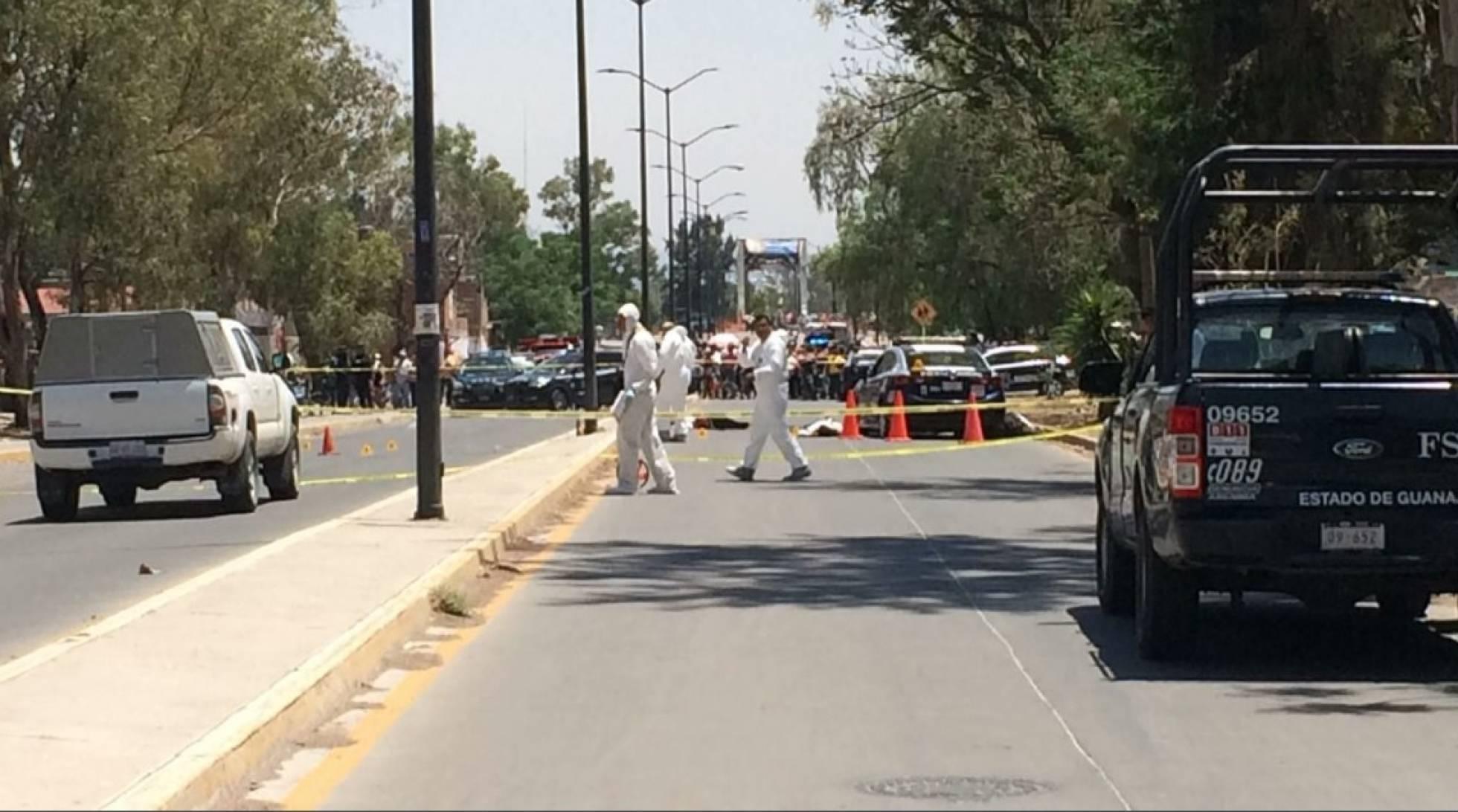 Seis policías asesinados a balazos en plena calle en el Estado mexicano de Guanajuato