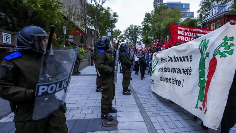 policias antidisturbios