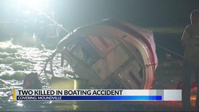 2 muertos y 3 heridos en colisión frontal en bote, en Black Warrior River en Moundville