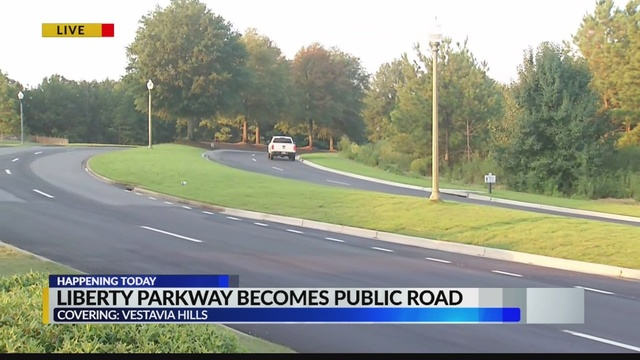 Conductores ahora podrán ser multados en partes de Liberty Park, ya que algunas carreteras se vuelven públicas
