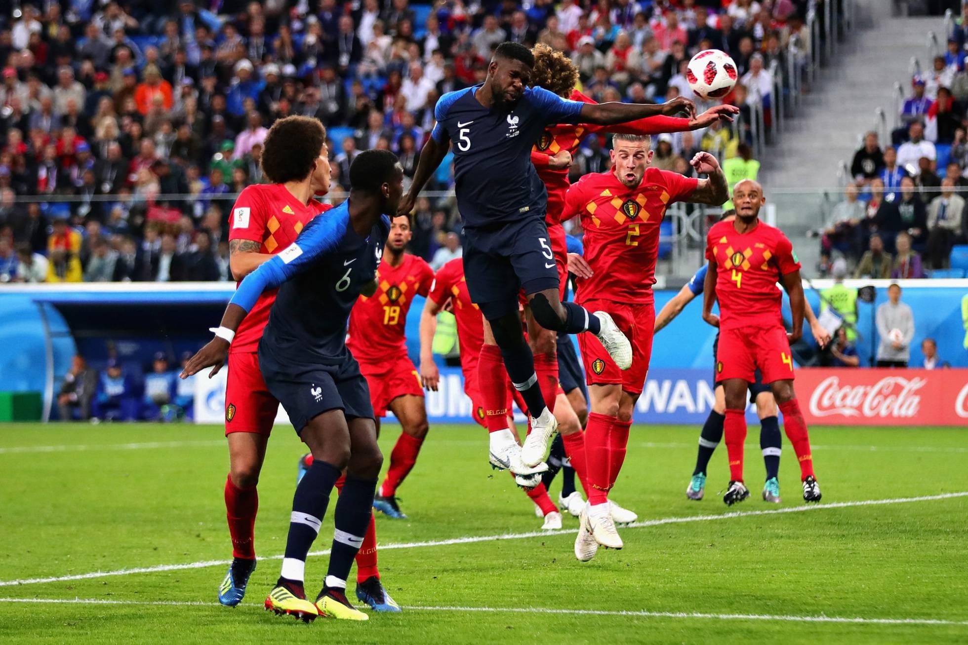 Francia se plantó en la final del Mundial