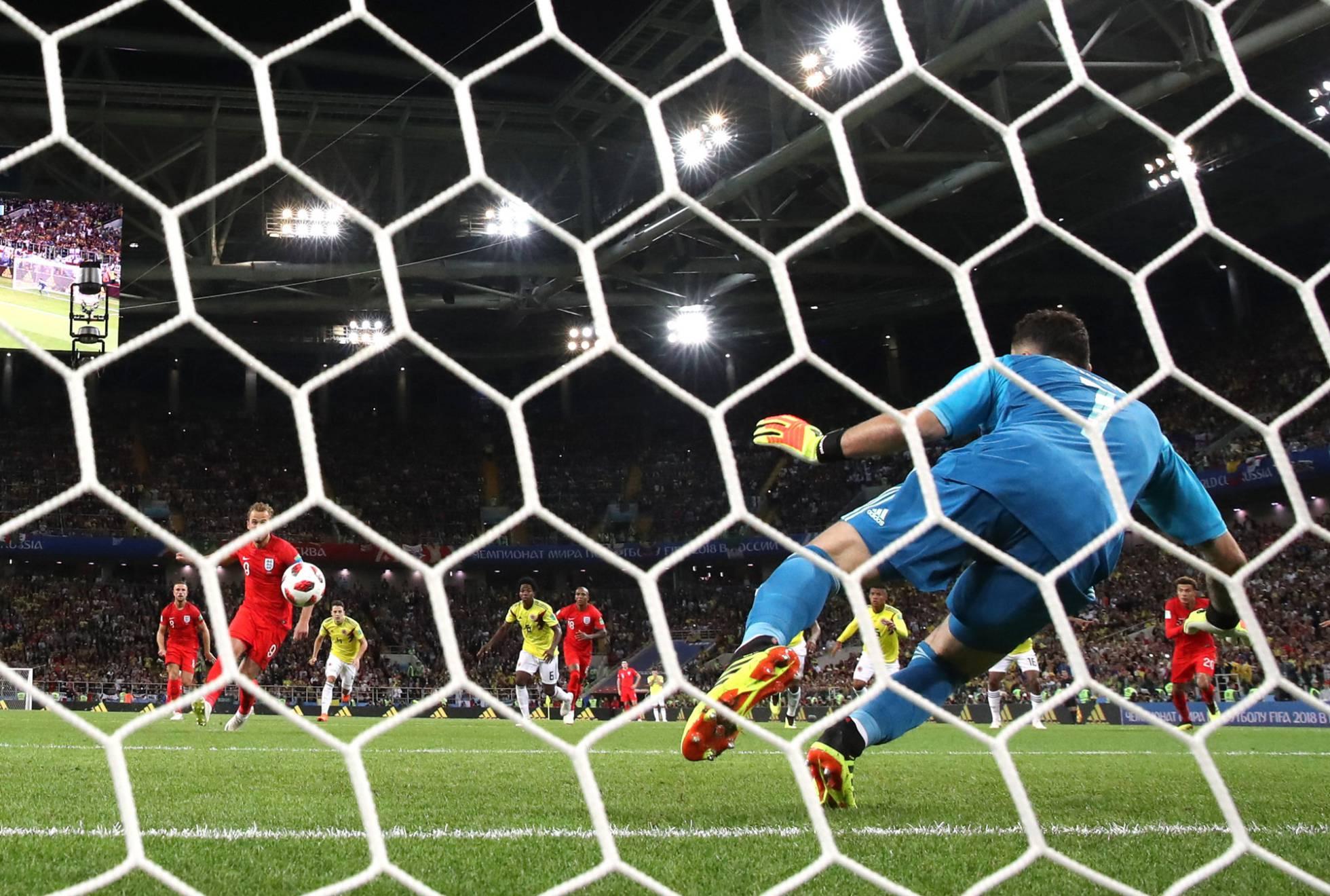 Colombia, fuera del Mundial al perder con Inglaterra en los penaltis
