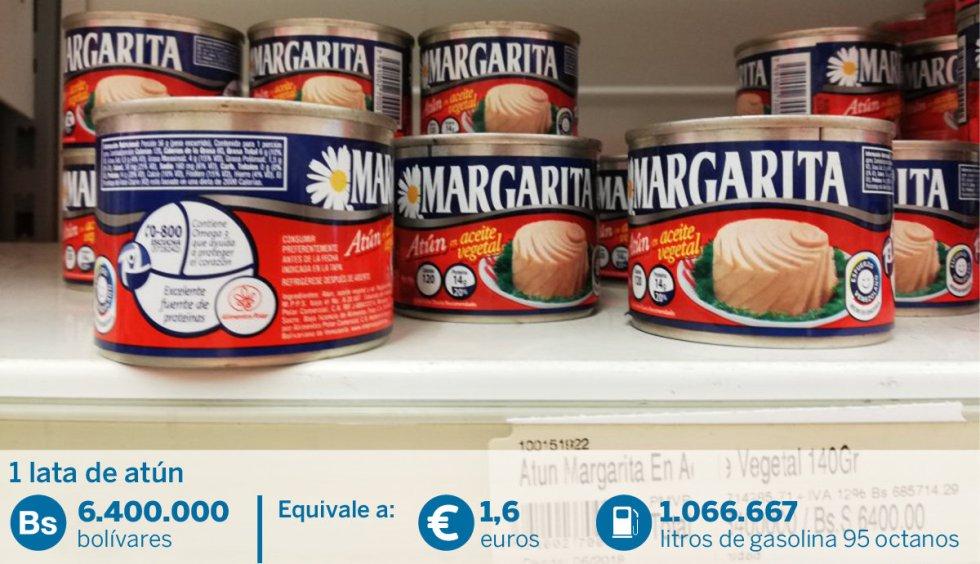 Venezuela: el país donde vale lo mismo un millón de litros de gasolina que una lata de atún