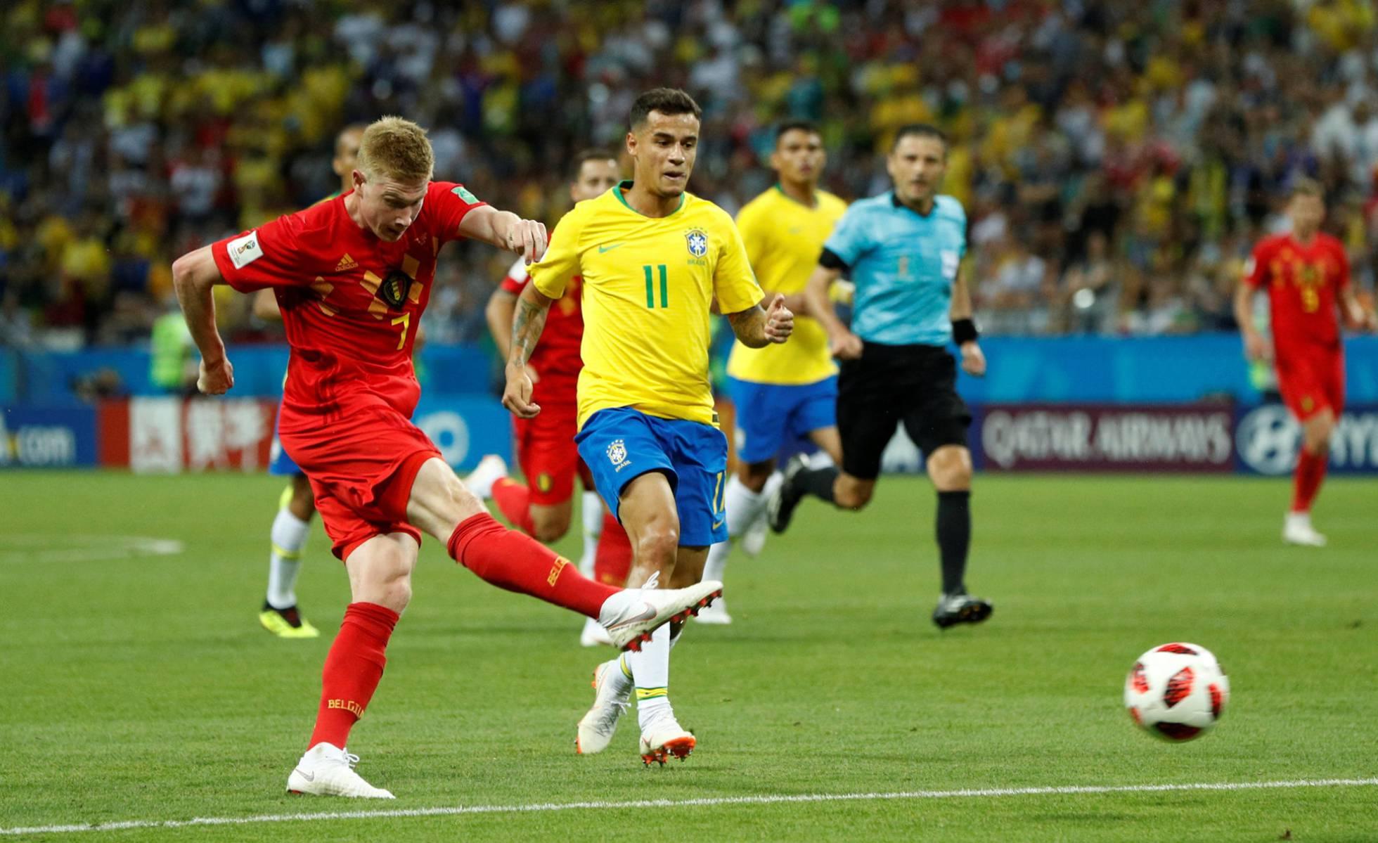 Bélgica elimina a Brasil y se clasifica para jugar las semifinales del Mundial (1-2)