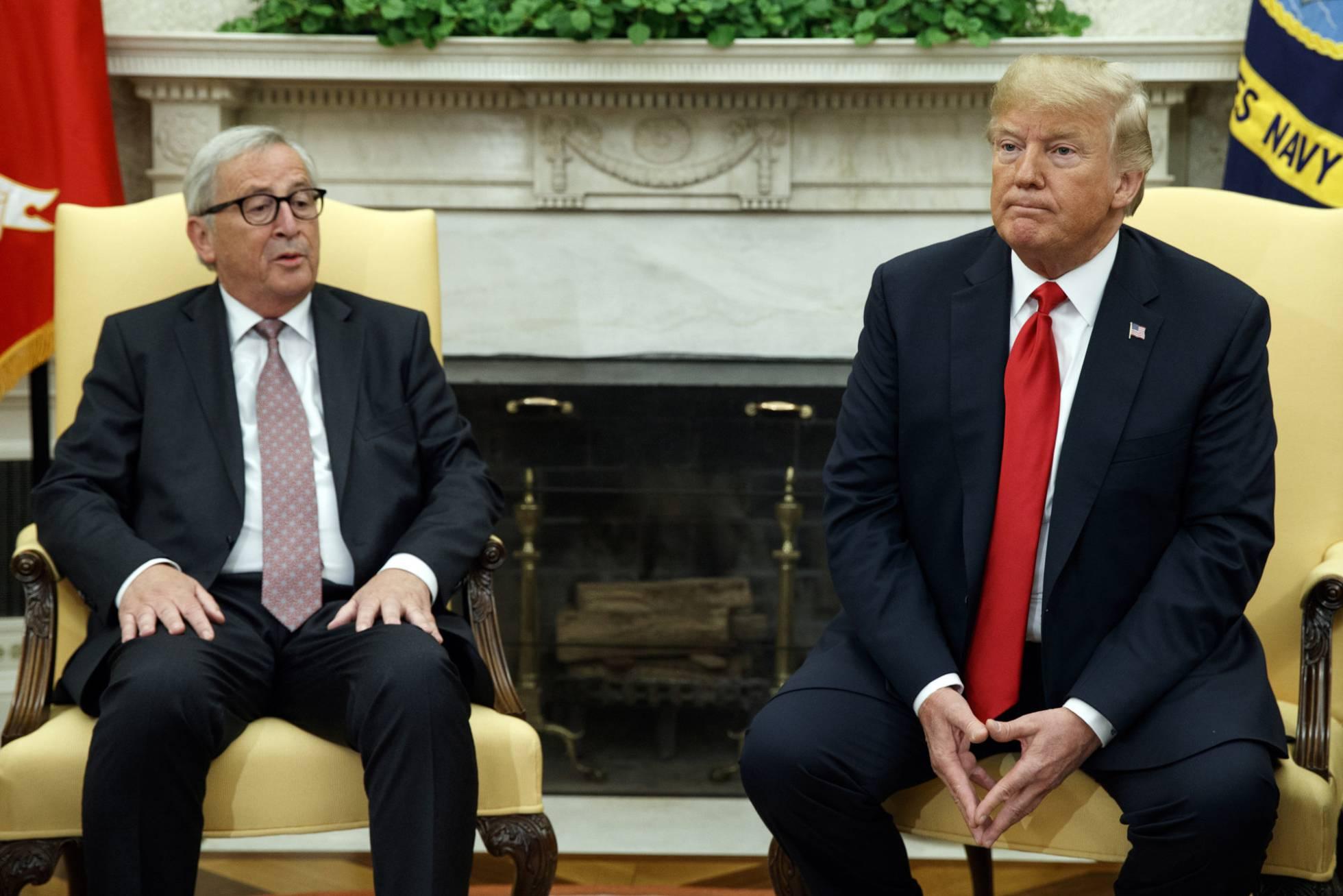 Juncker y Trump