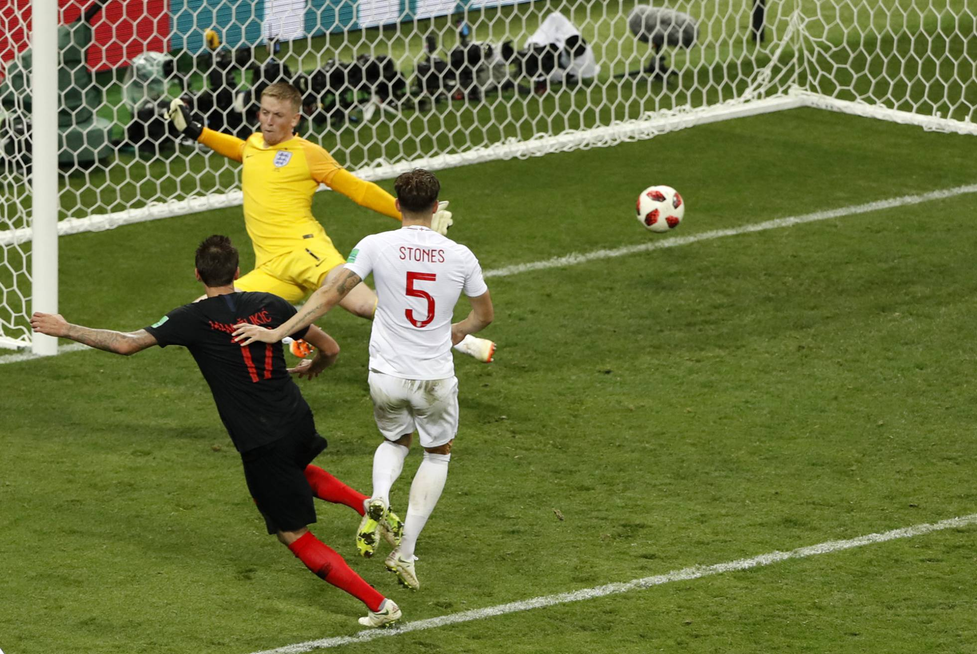 Croacia jugará su primera final de un Mundial tras imponerse a Inglaterra en la prórroga (2-1)