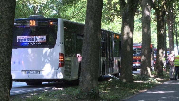 autobus donde atacaron con cuchillo a pasajeros