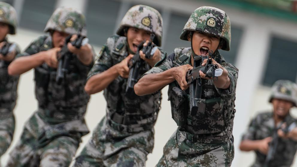 demostracion militar china