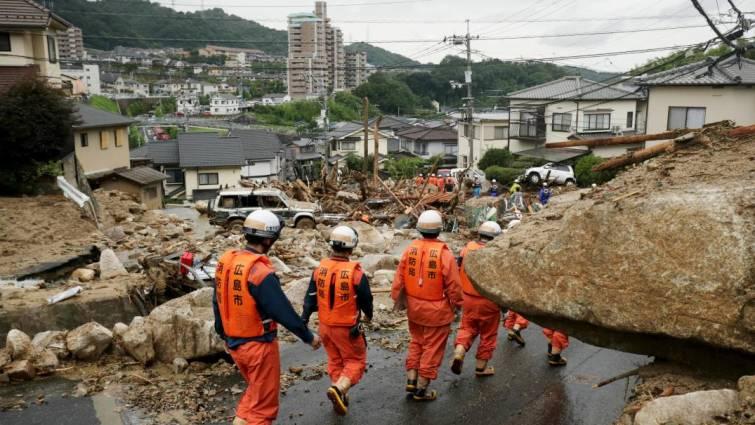 Más de 100 muertos y decenas de desaparecidos por las lluvias torrenciales en Japón