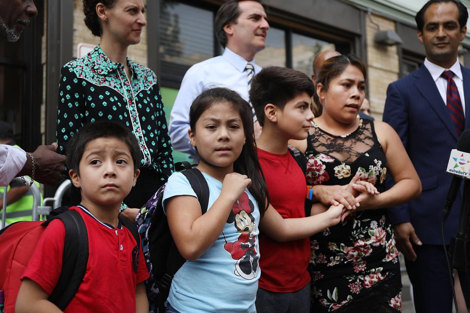 guatemalteca e hijos