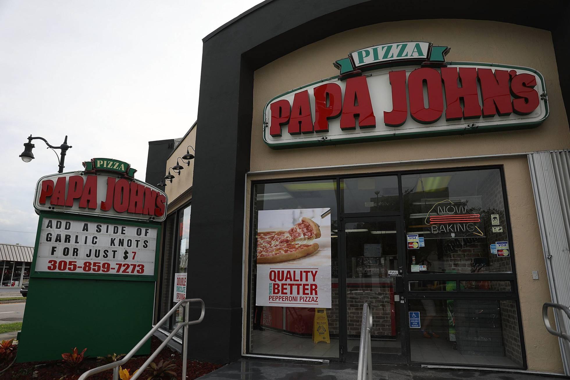 papa jhons pizza