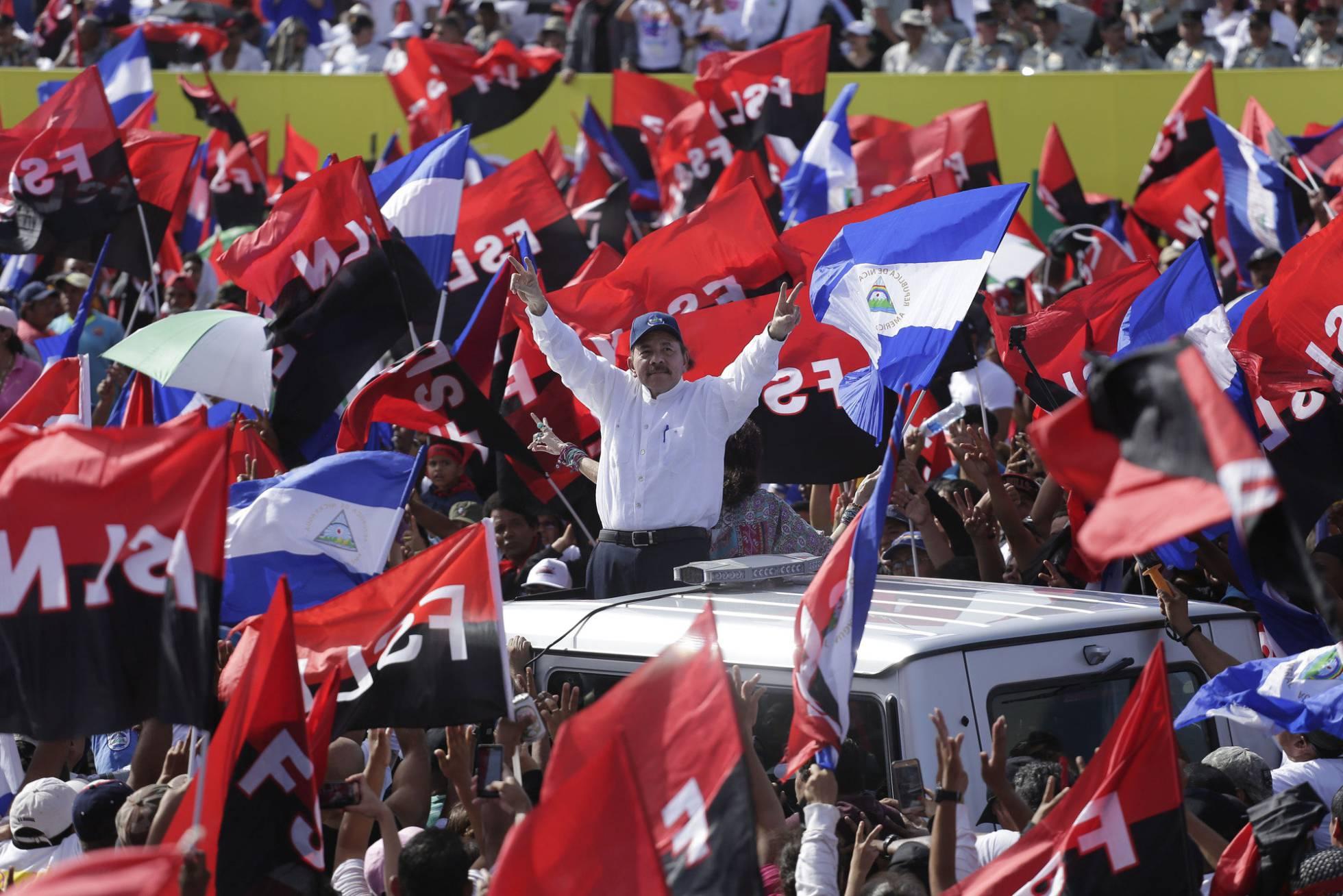 presidente Nicaragua Daniel Ortega