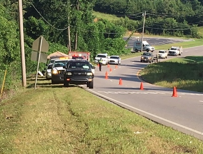 restos encontrados en Adamsville