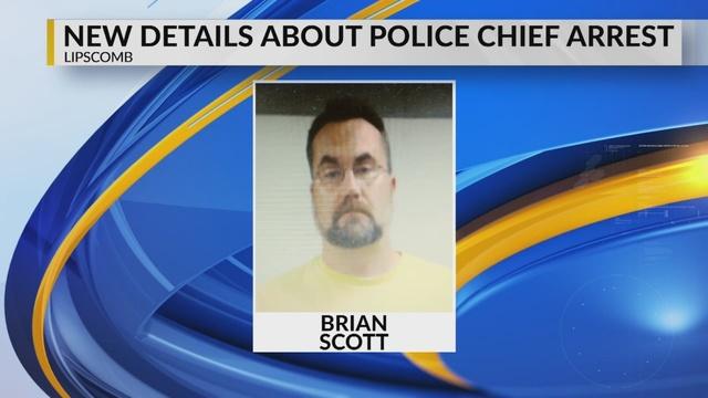 Jefe de la policía de Lipscomb arrestado, después de que agentes encontraron marihuana en su casa y en su patrulla