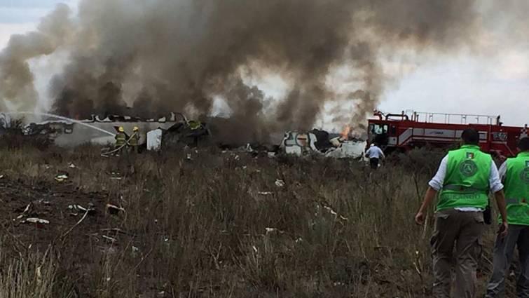 Una ráfaga de viento derribó el avión accidentado en México