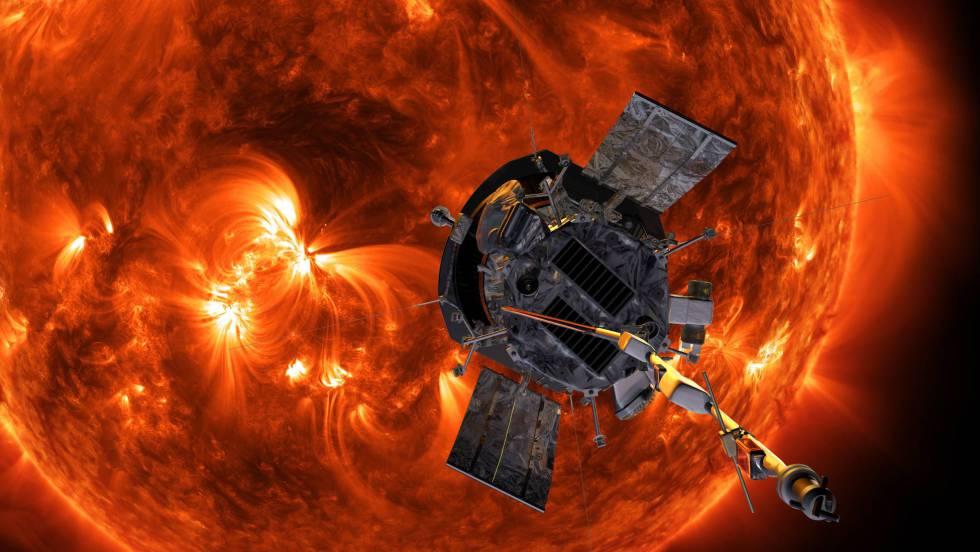 1 recreacion de la sonda solar parker
