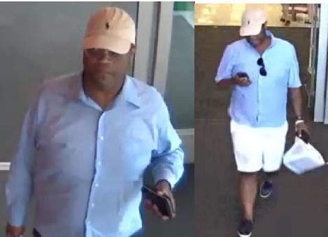 Hombre buscado por robo de carteras en supermercados en Mountain Brook y Moody
