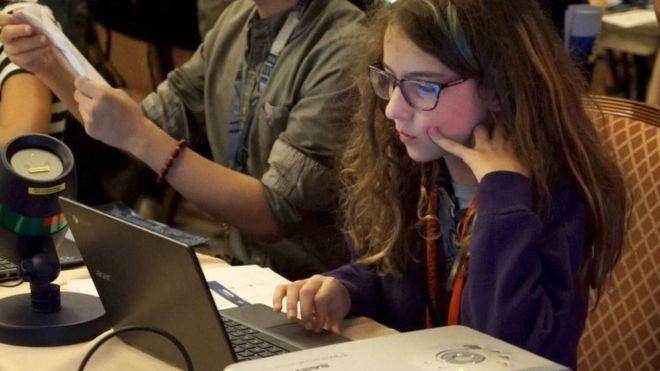 Un grupo de niños lograron hackear el sistema electoral de Estados Unidos