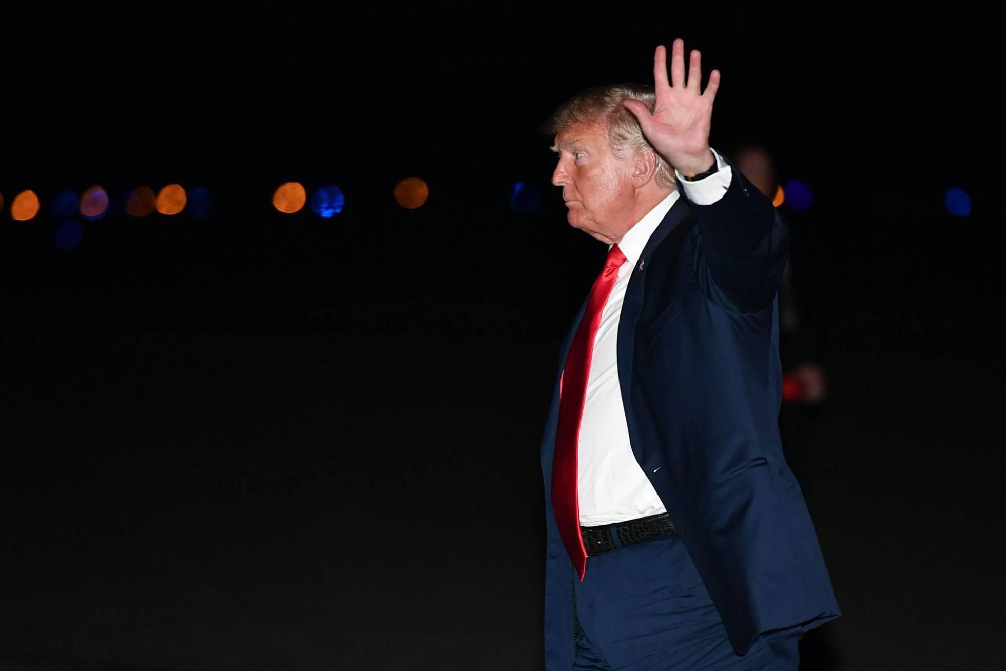 Donald Trump en Nueva Jersey