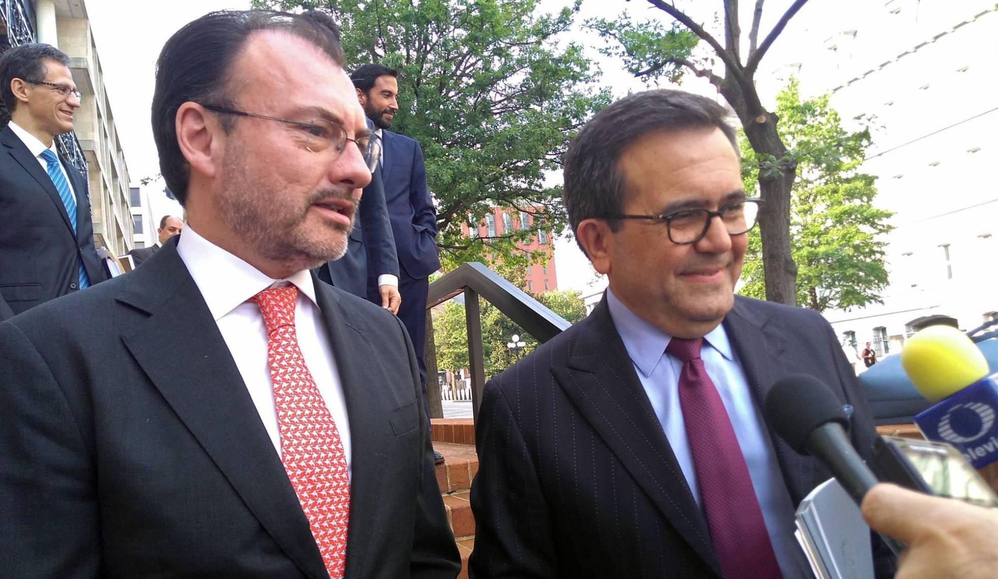 "México prevé un acuerdo comercial con EE UU en las próximas ""horas o días"""