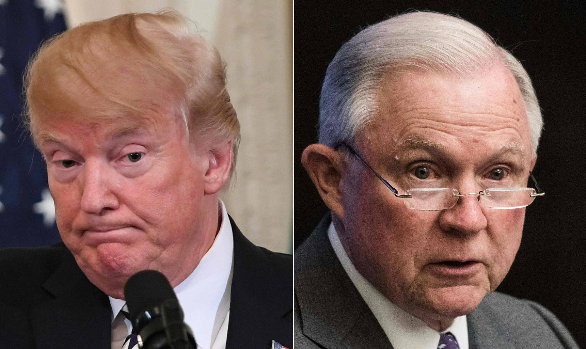 Trump y Sessions