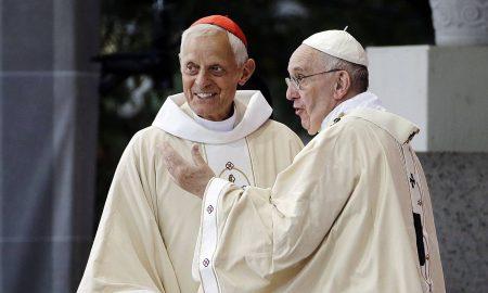 cardenal Wuerl con El Papa Francisco