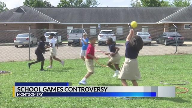 controversia juegos escolares montgomery