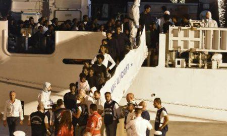 desembarco inmigrantes