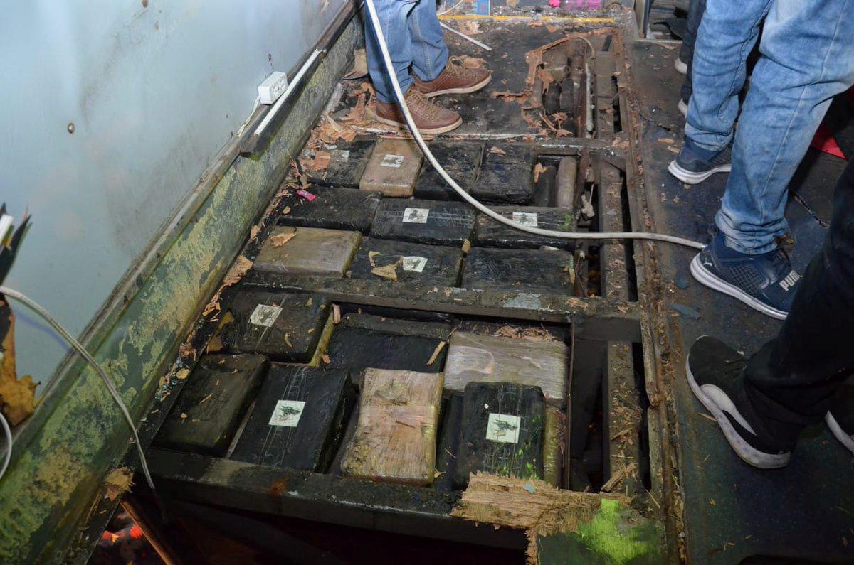 Ecuador encuentra 579 kilos de droga en el autobús que dejó 24 muertos en un accidente