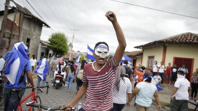 manifestacion nicaragua