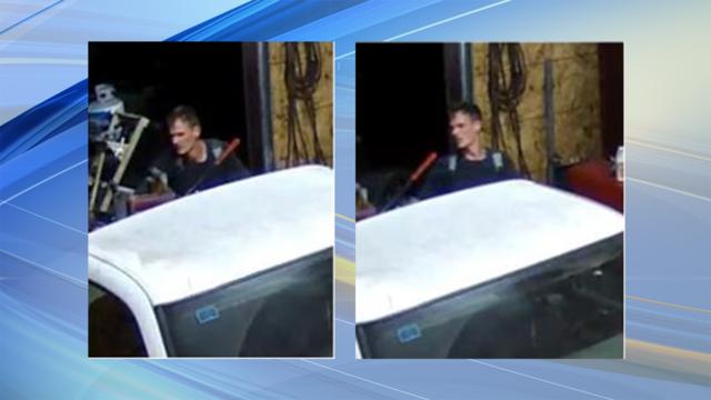 Sospechoso de robo de Tuscaloosa, roba el vehículo antes de escapar