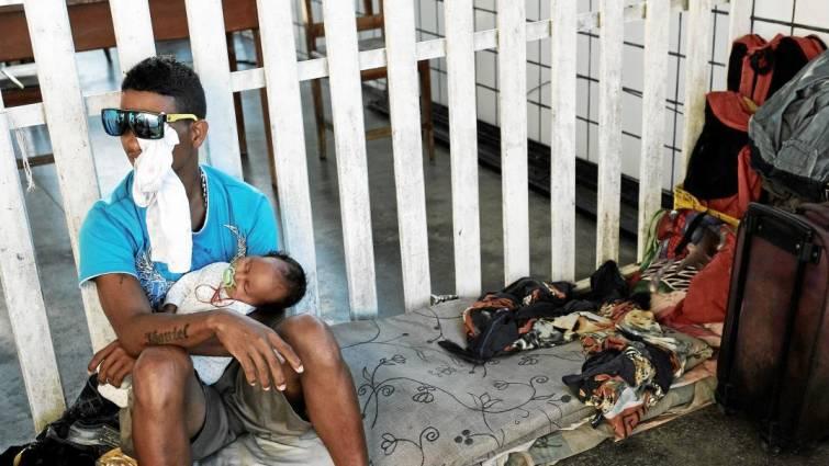 Alarma sanitaria en las fronteras de Venezuela