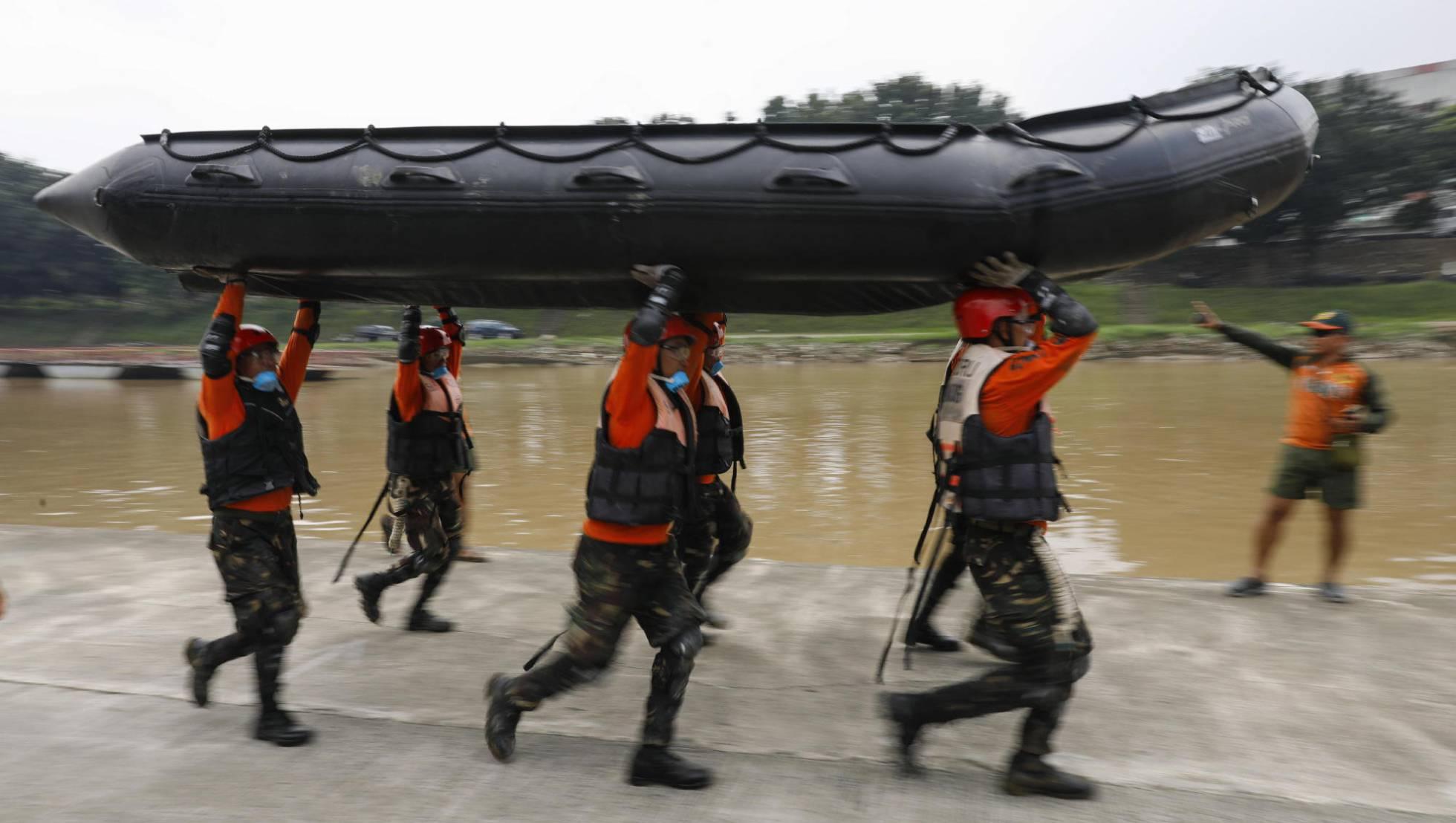 Filipinas se prepara para la llegada del potente tifón Mangkhut