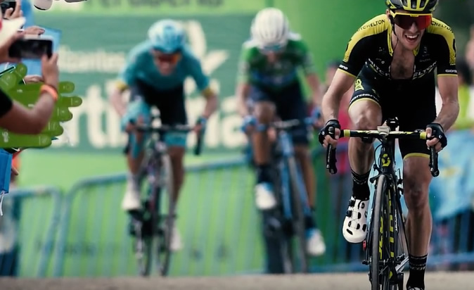 Yates no descarta a Quintana en la pelea final por la Vuelta a España