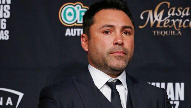 Oscar de la Hoya anhela ser el presidente de EUA