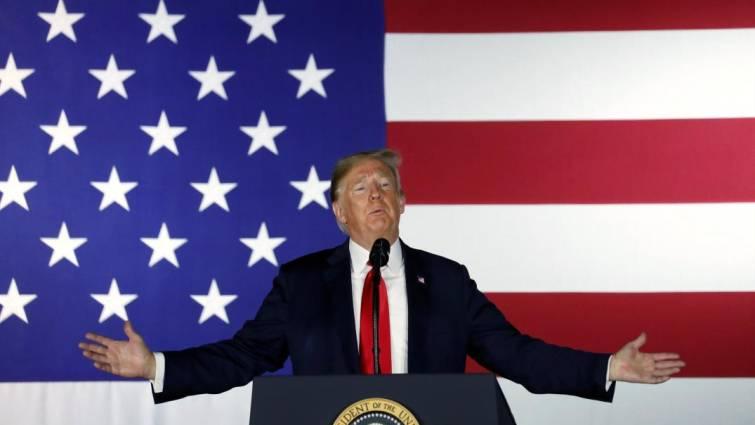 Trump pide al fiscal general que desenmascare al autor del artículo anónimo