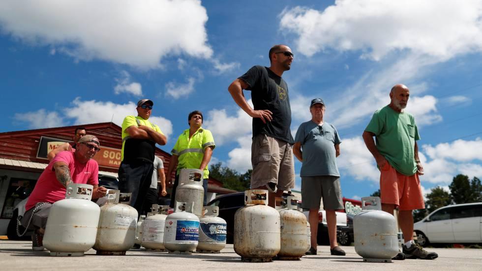 Un millón de personas evacuadas en el este de EE UU ante la llegada del huracán Florence