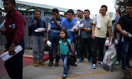 inmigrantes indocumentados liberados en texas