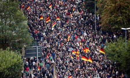 marcha ultraderecha en alemania