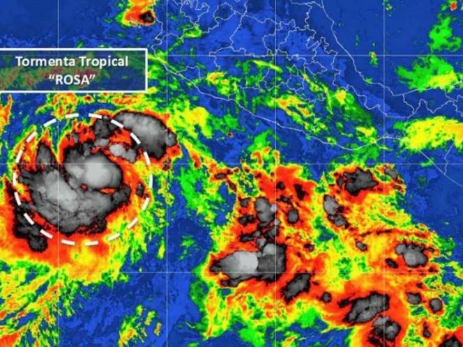 tormenta tropical rosa