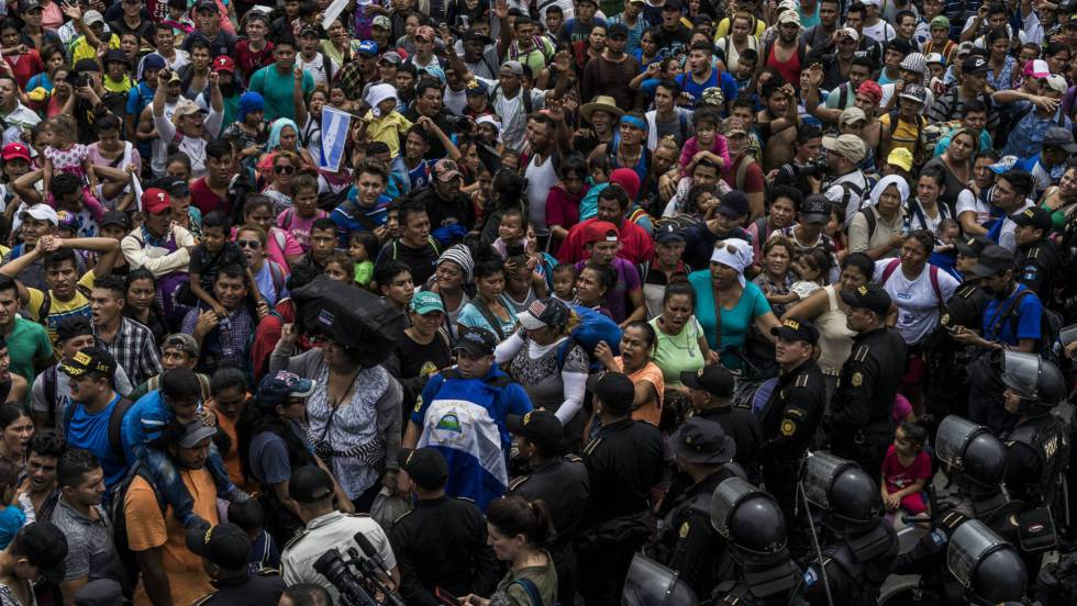 Trump anuncia el recorte de la ayuda económica a Centroamérica por la caravana de inmigrantes