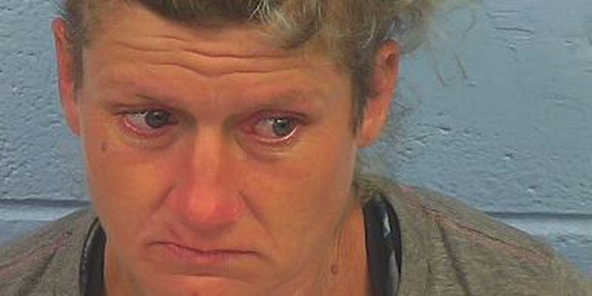 Mujer del condado de Etowah, acusada de incendio y robo
