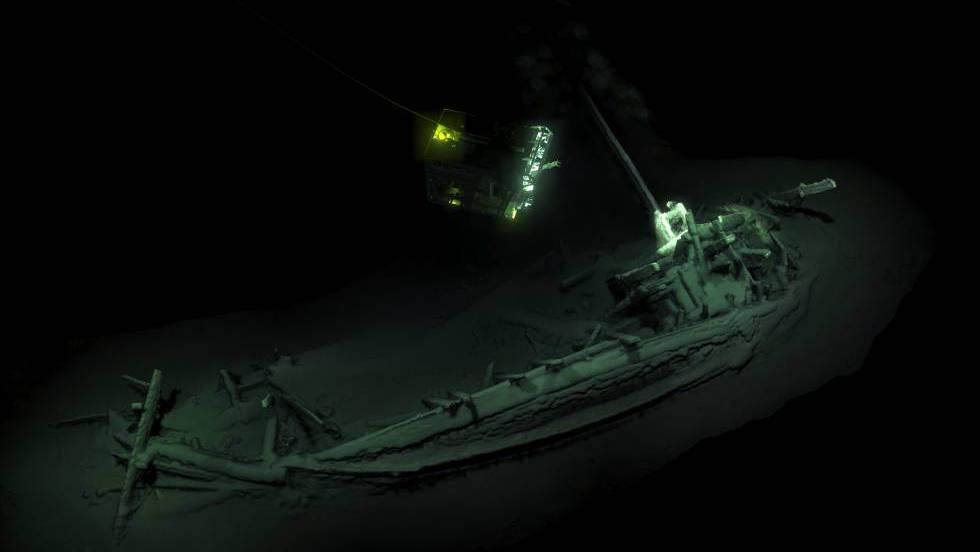 1 simulacion en 3D barco hallado