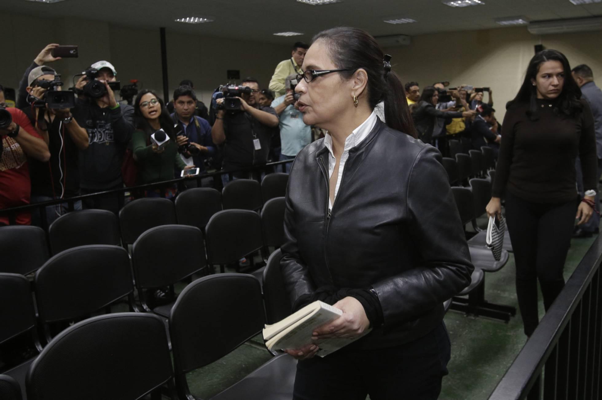 Condenada a 15 años de cárcel la exvicepresidenta de Guatemala Roxana Baldetti por corrupción