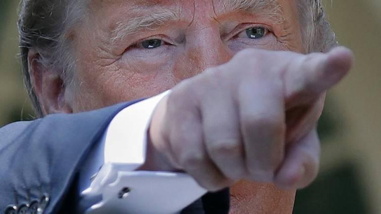 Trump se burla de la presunta víctima de su candidato al Supremo