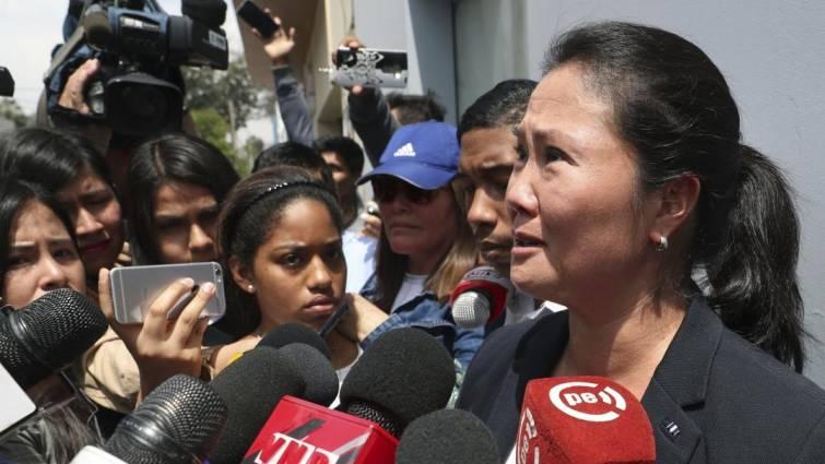 Keiko Fujimori, detenida por la presunta financiación ilegal de la campaña electoral de 2011