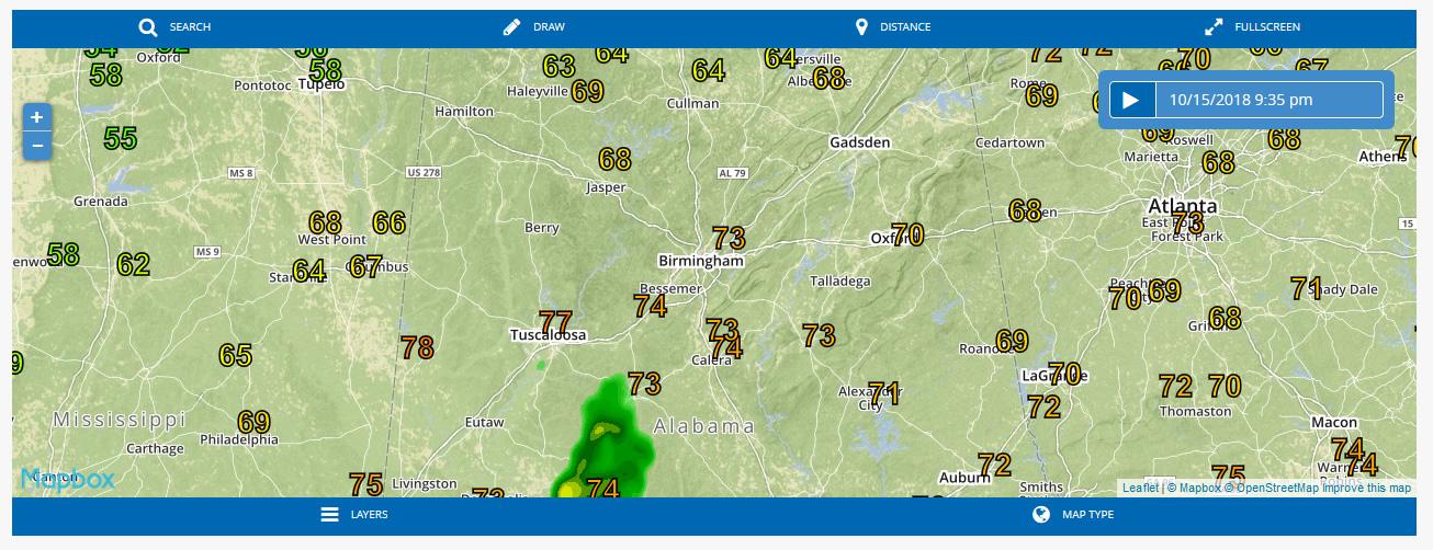 Se esperan temperaturas frías en Alabama a partir de la próxima semana
