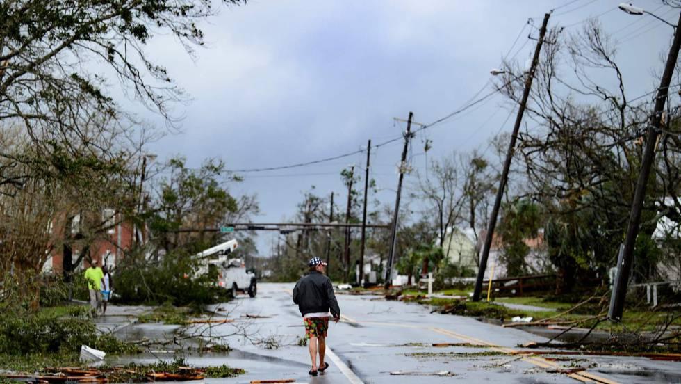 destrozos en panama por el huracan