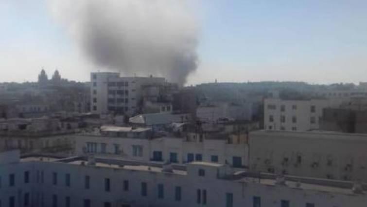 explosion en tunez